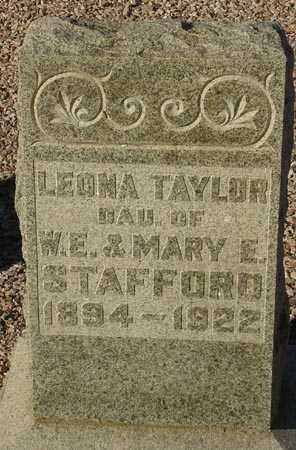 STAFFORD TAYLOR, LEONA - Maricopa County, Arizona | LEONA STAFFORD TAYLOR - Arizona Gravestone Photos