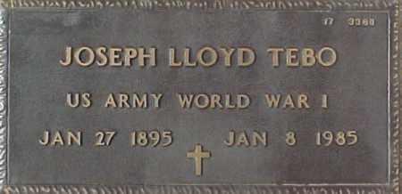TEBO, JOSEPH LLOYD - Maricopa County, Arizona | JOSEPH LLOYD TEBO - Arizona Gravestone Photos