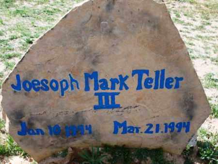 TELLER, JOSEPH MARK, III - Maricopa County, Arizona | JOSEPH MARK, III TELLER - Arizona Gravestone Photos