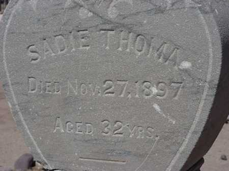 THOMA, SADIE - Maricopa County, Arizona | SADIE THOMA - Arizona Gravestone Photos