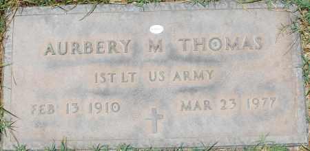 THOMAS, AURBERY M. - Maricopa County, Arizona   AURBERY M. THOMAS - Arizona Gravestone Photos