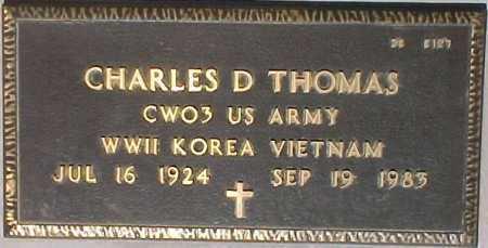 THOMAS, CHARLES D. - Maricopa County, Arizona | CHARLES D. THOMAS - Arizona Gravestone Photos