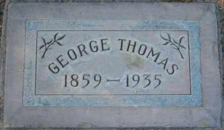 THOMAS, GEORGE - Maricopa County, Arizona | GEORGE THOMAS - Arizona Gravestone Photos
