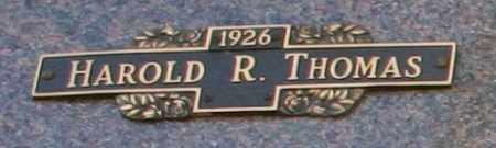 THOMAS, HAROLD R - Maricopa County, Arizona   HAROLD R THOMAS - Arizona Gravestone Photos