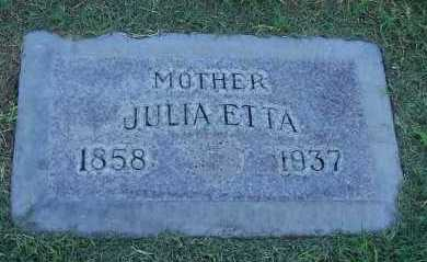 THOMAS, JULIA ETTA - Maricopa County, Arizona   JULIA ETTA THOMAS - Arizona Gravestone Photos
