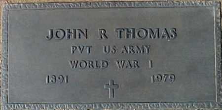 THOMAS, JOHN R. - Maricopa County, Arizona | JOHN R. THOMAS - Arizona Gravestone Photos