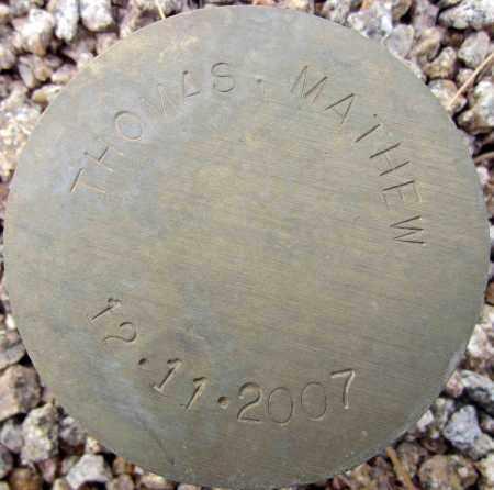 THOMAS, MATHEW - Maricopa County, Arizona | MATHEW THOMAS - Arizona Gravestone Photos