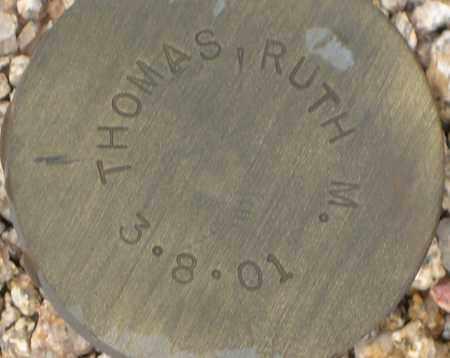 THOMAS, RUTH M. - Maricopa County, Arizona | RUTH M. THOMAS - Arizona Gravestone Photos