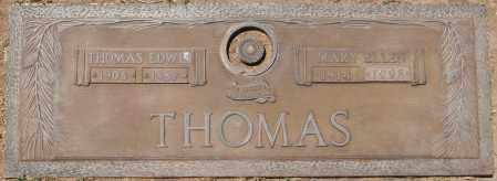 THOMAS, MARY ELLEN - Maricopa County, Arizona   MARY ELLEN THOMAS - Arizona Gravestone Photos