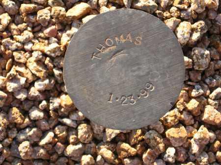 THOMAS, UNKNOWN - Maricopa County, Arizona | UNKNOWN THOMAS - Arizona Gravestone Photos