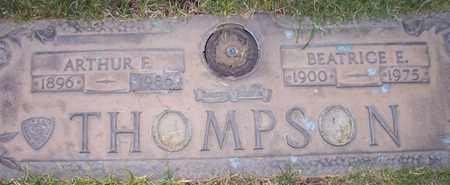 THOMPSON, ARTHUR E. - Maricopa County, Arizona   ARTHUR E. THOMPSON - Arizona Gravestone Photos