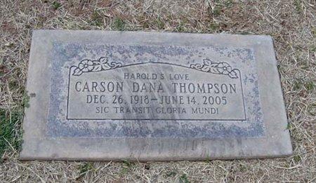 THOMPSON, CARSON DANA - Maricopa County, Arizona | CARSON DANA THOMPSON - Arizona Gravestone Photos