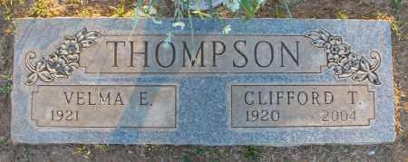 THOMPSON, VELMA E. - Maricopa County, Arizona | VELMA E. THOMPSON - Arizona Gravestone Photos
