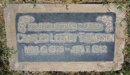 THOMPSON, CHARLES LEEROY - Maricopa County, Arizona | CHARLES LEEROY THOMPSON - Arizona Gravestone Photos