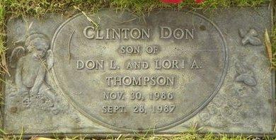 THOMPSON, CLINTON DON - Maricopa County, Arizona   CLINTON DON THOMPSON - Arizona Gravestone Photos