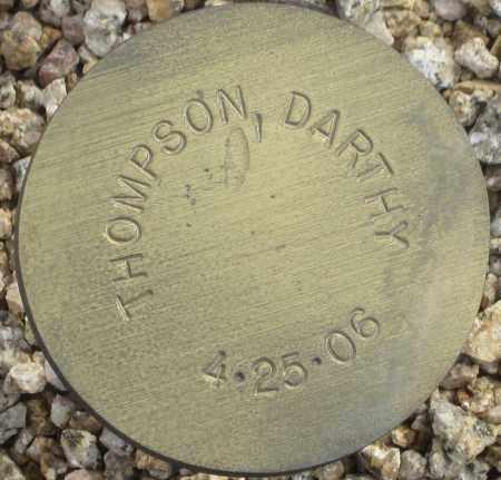 THOMPSON, DARTHY - Maricopa County, Arizona | DARTHY THOMPSON - Arizona Gravestone Photos