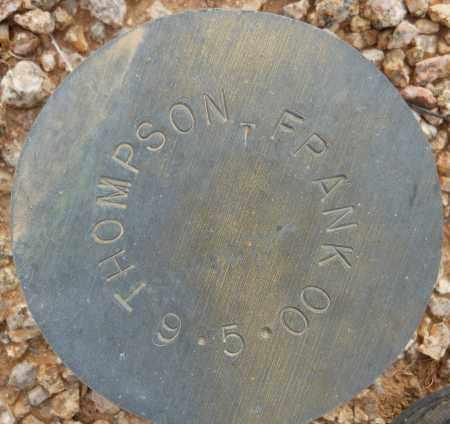 THOMPSON, FRANK - Maricopa County, Arizona | FRANK THOMPSON - Arizona Gravestone Photos