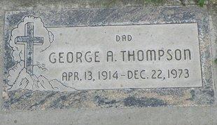 THOMPSON, GEORGE A - Maricopa County, Arizona | GEORGE A THOMPSON - Arizona Gravestone Photos