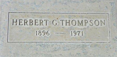 THOMPSON, HERBERT G - Maricopa County, Arizona | HERBERT G THOMPSON - Arizona Gravestone Photos