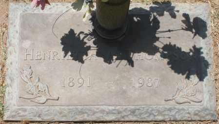 THOMPSON, HENRIETTA A. - Maricopa County, Arizona | HENRIETTA A. THOMPSON - Arizona Gravestone Photos