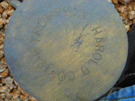 THOMPSON, HAROLD - Maricopa County, Arizona | HAROLD THOMPSON - Arizona Gravestone Photos