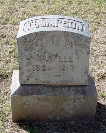 THOMPSON, ISABELLE - Maricopa County, Arizona | ISABELLE THOMPSON - Arizona Gravestone Photos
