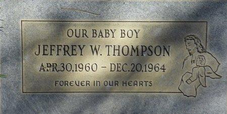 THOMPSON, JEFFREY W - Maricopa County, Arizona | JEFFREY W THOMPSON - Arizona Gravestone Photos