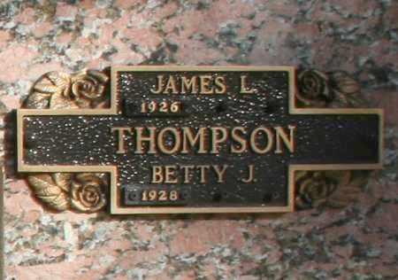THOMPSON, BETTY J. - Maricopa County, Arizona | BETTY J. THOMPSON - Arizona Gravestone Photos