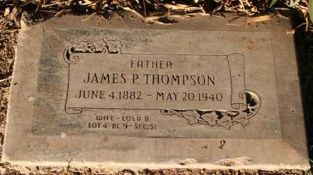 THOMPSON, JAMES P. - Maricopa County, Arizona | JAMES P. THOMPSON - Arizona Gravestone Photos