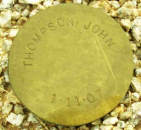 THOMPSON, JOHN - Maricopa County, Arizona | JOHN THOMPSON - Arizona Gravestone Photos