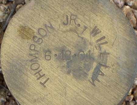 THOMPSON, WILLIAM, JR - Maricopa County, Arizona   WILLIAM, JR THOMPSON - Arizona Gravestone Photos