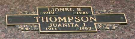 THOMPSON, LIONEL R - Maricopa County, Arizona | LIONEL R THOMPSON - Arizona Gravestone Photos