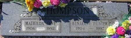 THOMPSON, BENJAMIN HUNTER - Maricopa County, Arizona | BENJAMIN HUNTER THOMPSON - Arizona Gravestone Photos