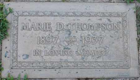 THOMPSON, MARIE - Maricopa County, Arizona | MARIE THOMPSON - Arizona Gravestone Photos