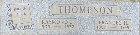 THOMPSON, RAYMOND J - Maricopa County, Arizona | RAYMOND J THOMPSON - Arizona Gravestone Photos