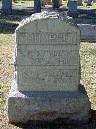 THOMPSON, AGNES - Maricopa County, Arizona   AGNES THOMPSON - Arizona Gravestone Photos