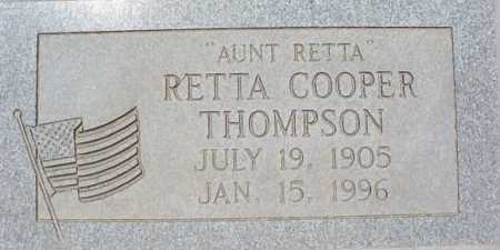 THOMPSON, RETTA - Maricopa County, Arizona | RETTA THOMPSON - Arizona Gravestone Photos