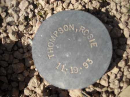 THOMPSON, ROSIE - Maricopa County, Arizona   ROSIE THOMPSON - Arizona Gravestone Photos