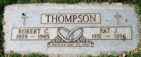 THOMPSON, ROBERT C - Maricopa County, Arizona | ROBERT C THOMPSON - Arizona Gravestone Photos