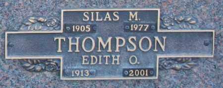 THOMPSON, SILAS M - Maricopa County, Arizona | SILAS M THOMPSON - Arizona Gravestone Photos