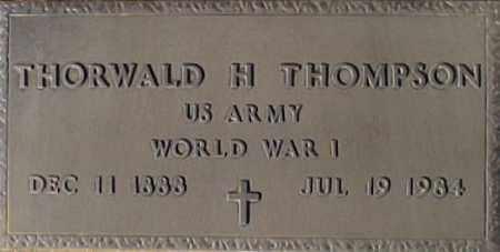 THOMPSON, THORWALD H. - Maricopa County, Arizona | THORWALD H. THOMPSON - Arizona Gravestone Photos
