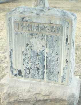 THOMPSON, UNKNOWN - Maricopa County, Arizona   UNKNOWN THOMPSON - Arizona Gravestone Photos