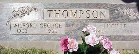 THOMPSON, LUCILLE - Maricopa County, Arizona | LUCILLE THOMPSON - Arizona Gravestone Photos