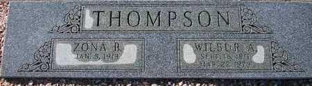 THOMPSON, ZONA B. - Maricopa County, Arizona | ZONA B. THOMPSON - Arizona Gravestone Photos