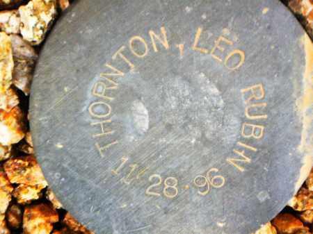 THORNTON, LEO RUBIN - Maricopa County, Arizona   LEO RUBIN THORNTON - Arizona Gravestone Photos