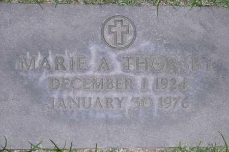 THORSBY, MARIE A. - Maricopa County, Arizona | MARIE A. THORSBY - Arizona Gravestone Photos