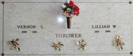 THROWER, LILLIAN W - Maricopa County, Arizona | LILLIAN W THROWER - Arizona Gravestone Photos