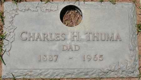 THUMA, CHARLES H. - Maricopa County, Arizona | CHARLES H. THUMA - Arizona Gravestone Photos