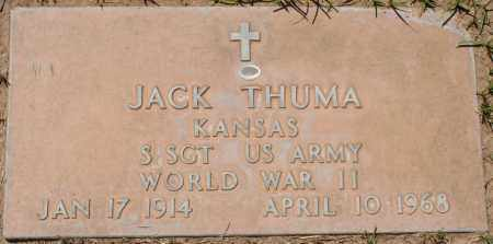 THUMA, JACK - Maricopa County, Arizona | JACK THUMA - Arizona Gravestone Photos