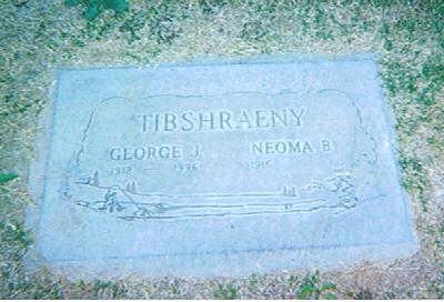 HARRIS TIBSHRAENY, NAOMA BLANCHE - Maricopa County, Arizona | NAOMA BLANCHE HARRIS TIBSHRAENY - Arizona Gravestone Photos